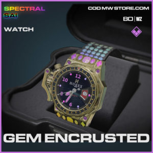 Gem Encrusted watch in Cold War and Warzone