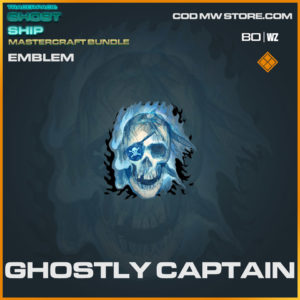 Ghostly Captain emblem in Warzone and Cold War