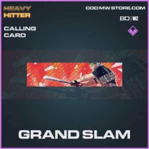 Grand Slam calling card in Warzone and Cold War