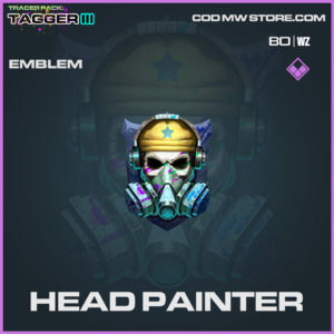 Head Painter emblem in Warzone and Cold War
