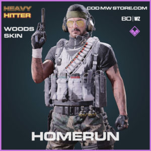 Homerun Woods skin in Warzone and Cold War