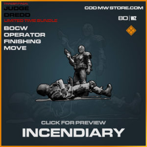 Incendiary Finishing Move in Warzone and Cold War
