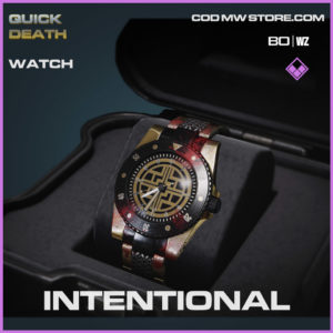 Intentional watch in Warzone and Cold War