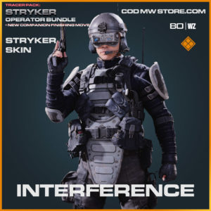 Interference Stryker skin in Warzone and Cold War