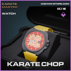 Karate Chop watch in Warzone and Cold War