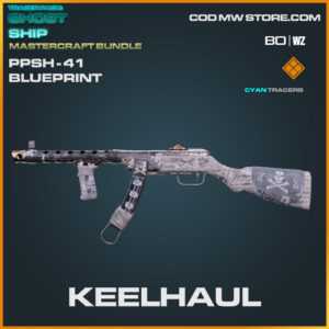 Keelhaul PPSh-41 blueprint skin in Warzone and Cold War