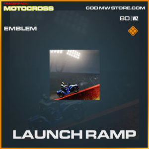 Launch Ramp emblem in Warzone and Cold War