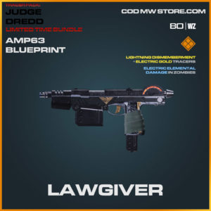 Lawgiver AMP63 blueprint skin in Warzone and Cold War