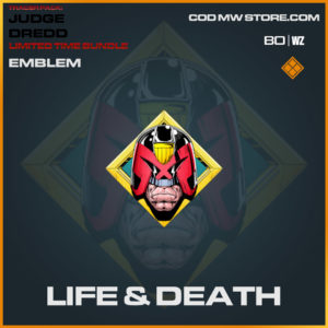 Life & Death emblem in Warzone and Cold War