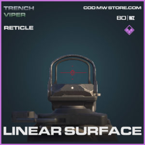 Linear Surface reticle in Warzone and Cold War
