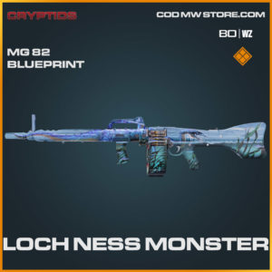 Loch Ness Monster MG 82 blueprint skin in Warzone and Cold War