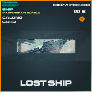 Lost Ship calling card in Warzone and Cold War