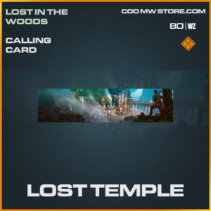 Lost Temple calling card in Warzone and Cold War