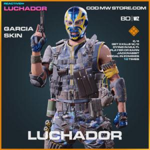 Luchador Garcian Skin in Warzone and Cold War