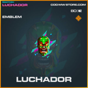 Luchador emblem in Warzone and Cold War