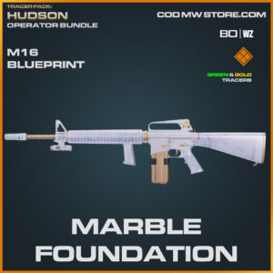 Marble Foundation M16 blueprint skin in Warzone and Cold War