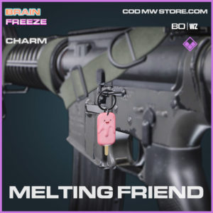 Melting Friend charm in Warzone and Cold War