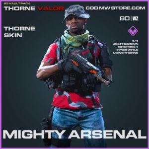 Mighty Arsenal Thorne skin in Warzone and Modern Warfare