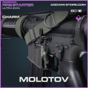 Molotov charm in Warzone and Cold War