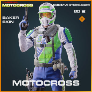 Motocross Baker Skin in Warzone and Cold War