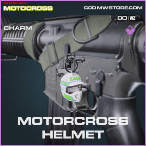Motorcross Helment charm in Warzone and Cold War