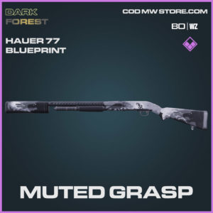 Muted Grasp Hauer 77 blueprint skin in Warzone and Cold War