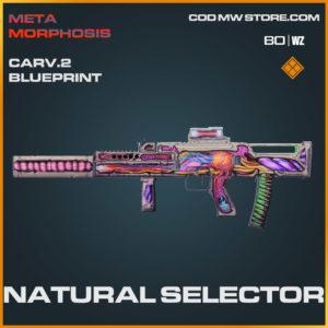 Natural Selector CARV.2 blueprint skin in Warzone and Cold War