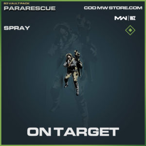 On Target Spray in Warzone and Modern Warfare