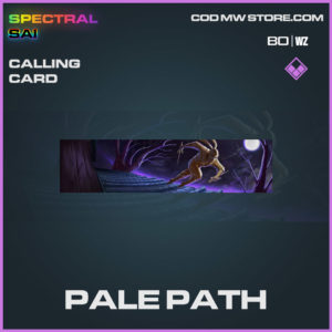 Pale Path calling card in Cold War and Warzone