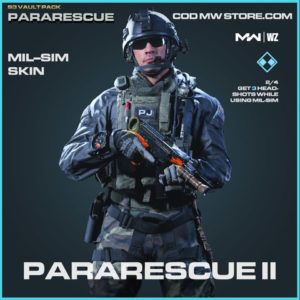 Pararescue II Mil-Sim Skin in Warzone and Modern Warfare