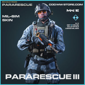 Pararescue III Mil-Sim Skin in Warzone and Modern Warfare