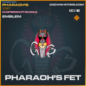 Pharaoh's Fet emblem in Warzone and Cold War