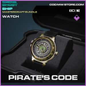 Pirate's Code watch in Warzone and Cold War