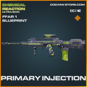 Primary Injection FFAR 1 blueprint skin in Warzone and Cold War