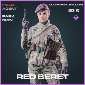 Red Beret Park skin in Warzone and Cold War