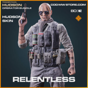 Relentless Hudson skin in Warzone and Cold War