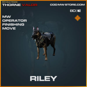 Riley Finishing Move in Warzone and Modern Warfare
