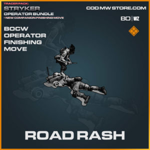 Road Rash Finishing Move in Warzone and Cold War
