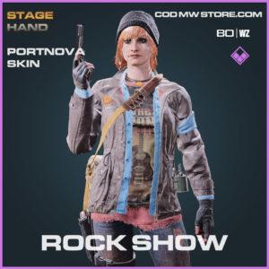 Rock Show portnova skin in Warzone and Cold War