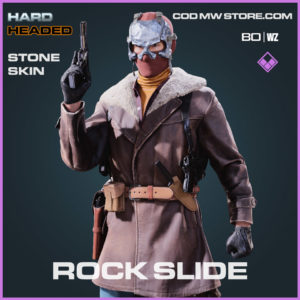 Rock Slide Stone skin in Warzone and Cold War