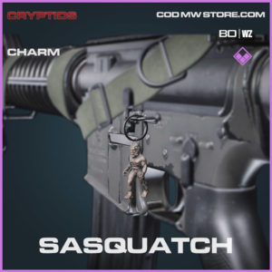 Sasquatch charm in Warzone and Cold War