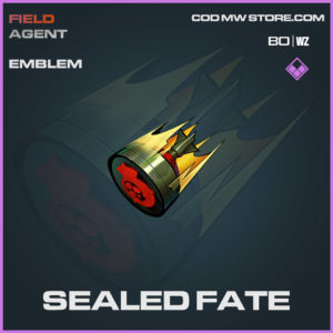 Sealed Fate emblem in Warzone and Cold War