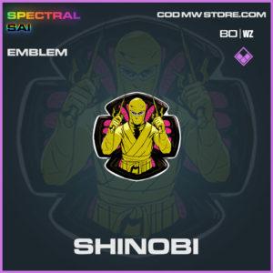 Shinobi emblem in Cold War and Warzone