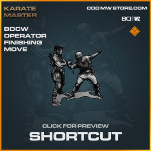 Shortcut Finishing Move in Warzone and Cold War