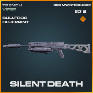 Silent Death Bullfrog blueprint skin in Warzone and Cold War