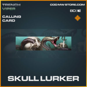 SKull Lurker calling card in Warzone and Cold War