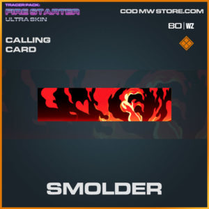 Smolder calling card in Warzone and Cold War