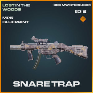 Snare Trap MP5 blueprint skin in Warzone and Cold War