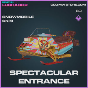Spectacular Entrance Snowmobile skin in Warzone and Cold War