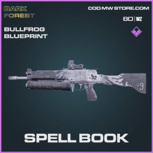 Spell Book Bullfrog blueprint skin in Warzone and Cold War